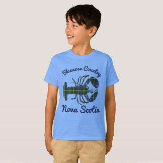 Bluenoser Nova Scotia 902 Tartan lobster shirt