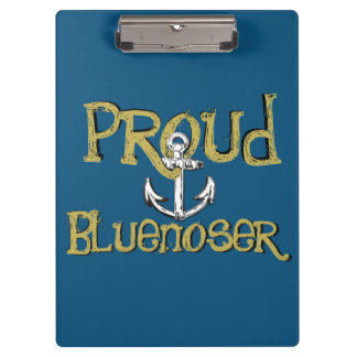Bluenoser Nova Scotia anchor clip board blue