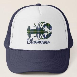 Bluenoser Nova Scotia Tartan lobster trucker hat