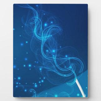 BlueOverPink Plaque