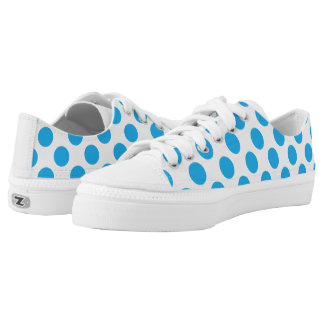 BluePolkaDots Printed Shoes