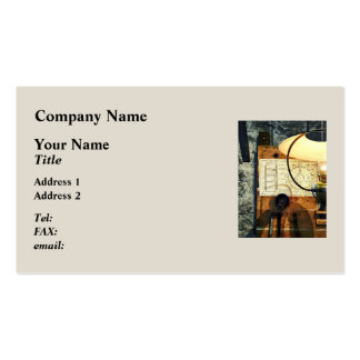 Blueprint Of Gear Business Cards