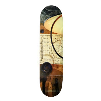 Blueprint of Gear Skateboards