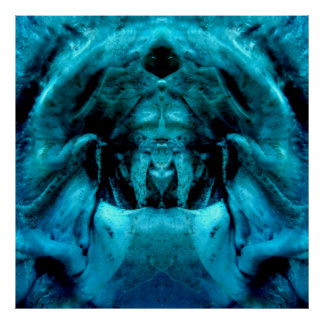 bluer dämohn poster