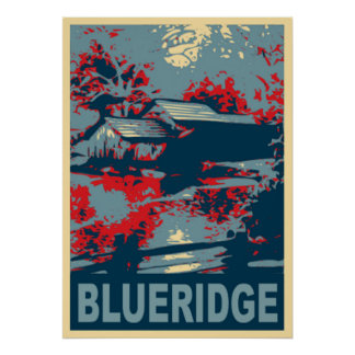 Blueridge Mountains VA, Mabry Mill Poster