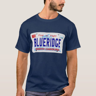 BLUERIDGE - NC Plate T-Shirt
