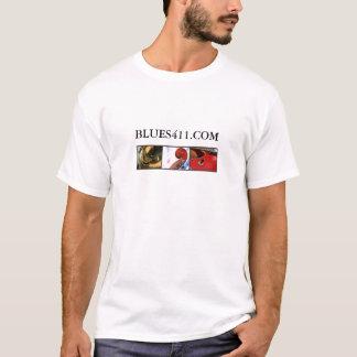 Blues411 Slogan Color T-Shirt