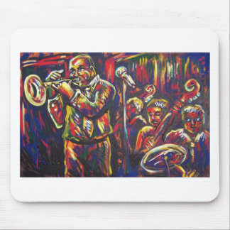 blues band mouse pad