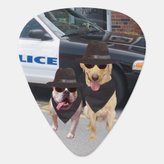 Blues Dogs Plectrum