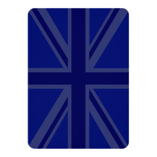 Blues for a Union Jack British Flag Card