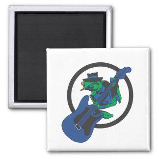 Blues Frog Magnet
