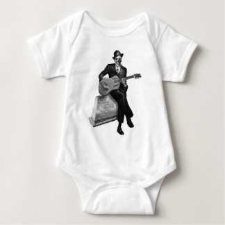 Blues Ghost Baby Bodysuit