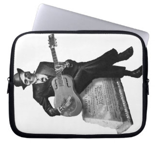 Blues ghost Laptop Sleeve