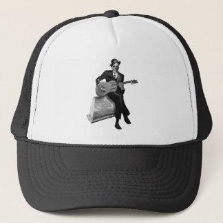 Blues Ghost Trucker Hat