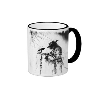 Blues Guitar Player and Band on Stage Mugs