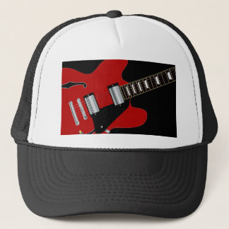 Blues Guitar Trucker Hat