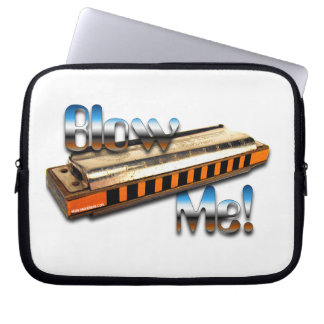 Blues harp Laptop Sleeve