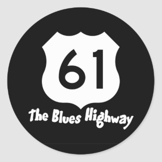 Blues Highway Sticker