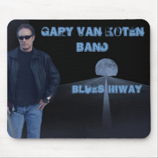 Blues Hiway Mouse Pad