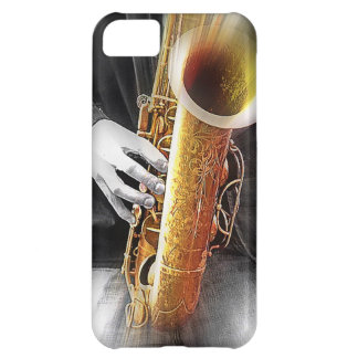 Blues in Sax iPhone 5C Case