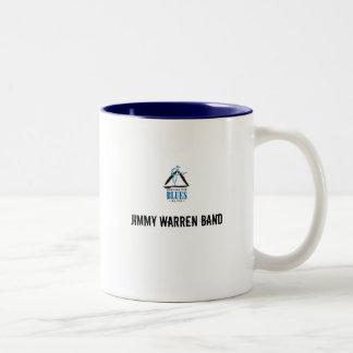 blues, Jimmy Warren Band Two-Tone Mug