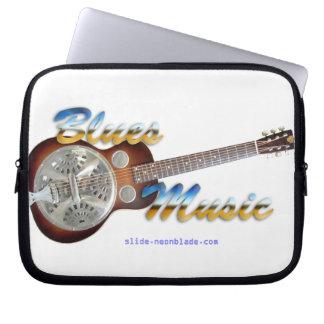 Blues music Laptop Sleeve