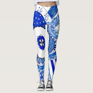 Blues Music. Leggings