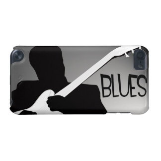 Blues player's silhouette with a spotlight iPod touch 5G case