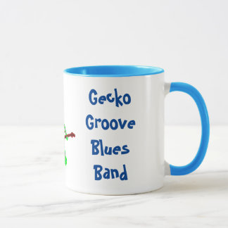 Blues Power Gecko Groove Blues Band Mug