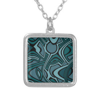 Blues Silver Plated Necklace