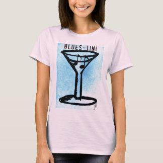 BLUES-TINI print by jill T-Shirt