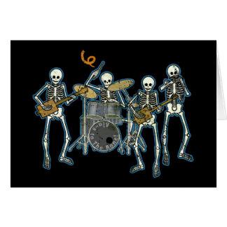 Blues To The Bone! Greeting Card