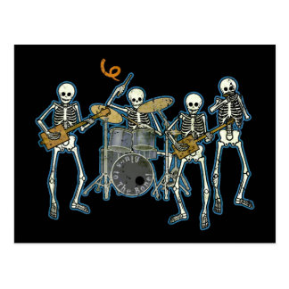 Blues To The Bone! Postcard