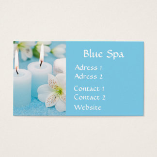 BlueSpa Business Card