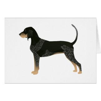 Bluetick Coonhound Basic Breed Customizable Design Card