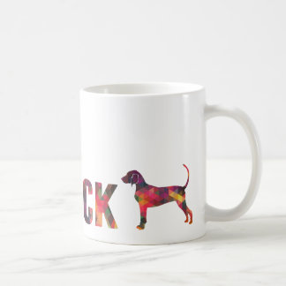 Bluetick Coonhound Colorful Graphic Multi Mug