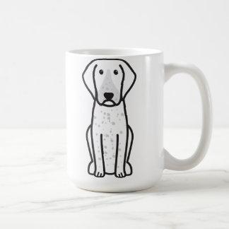 Bluetick Coonhound Dog Cartoon Coffee Mug