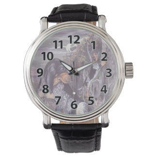 Bluetick Coonhound Puppy Dreamer Wristwatch