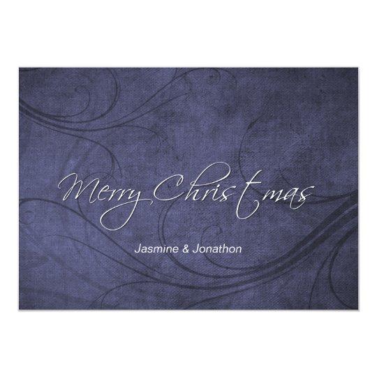 Bluetone 5x7 Photo Christmas Cards