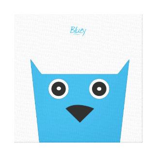 Bluey Canvas Canvas Print