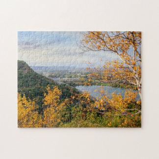 Bluff & Birch Panorama Jigsaw Puzzle