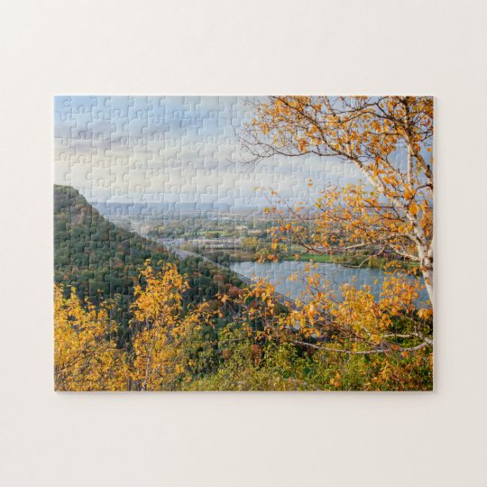 Bluff & Birch Panorama Jigsaw Puzzle