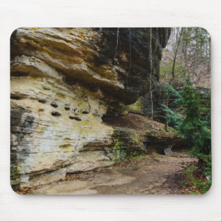 Bluff Lined Walkway Mouse Pad