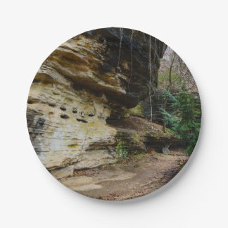 Bluff Lined Walkway Paper Plate