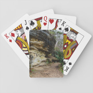 Bluff Lined Walkway Playing Cards