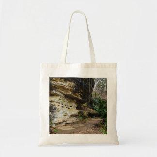 Bluff Lined Walkway Tote Bag