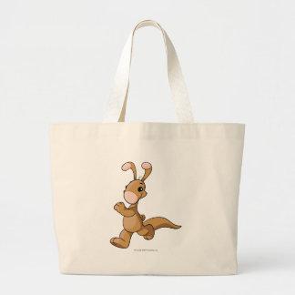 Blumaroo Brown Jumbo Tote Bag