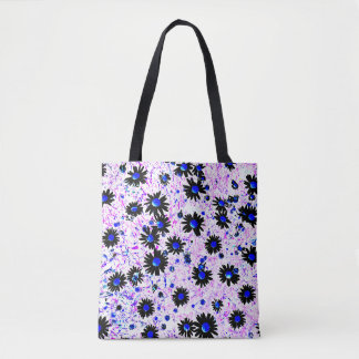 Blumige carrying bag with goose little flower
