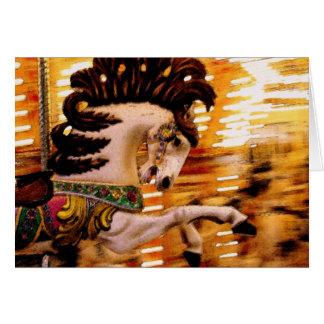 Blur #3 Horse Card