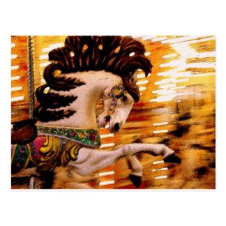Blur #3 Horse Postcard